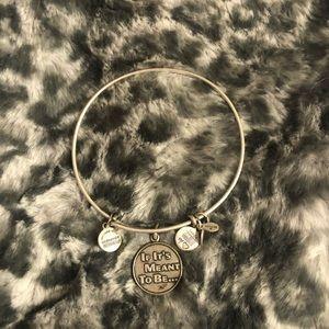 Alex and Ani silver bracelet